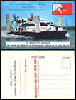 1963 Great Britain HOVERCRAFT Postcard 169