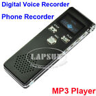 4GB Digital Voice Recorder Spy Pen Telephone Audio Music MP3 Player Repeater AU