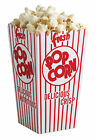 Popcorn Paperboard Boxes Set of 6 Food Safe Just Like One at the Movies New