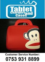 "Red Paul Frank Monkey Hard Shell Carry Case/Bag for 9.7""/10"" Inch Tablet PC"