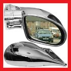 Vauxhall Corsa C 2000 To 2006 M3 Chrome Wing Door Mirrors Left & Right Manual