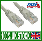 20m Beige Network Cable RJ45 LAN Patch Lead Cat 5 5e Ethernet 20 Metre Cat5e Utp