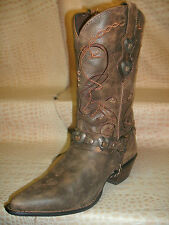 New Womens Durango Cowgirl Leather Ladies Fashion Western Cowboy Brown Boots