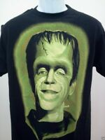 HERMAN MUNSTER T-SHIRT gothic rock new MENS THE MUNSTERS SIZE SM MED LG XL 2X