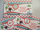 Dr Seuss - Cat in the Hat Themed - Scratch Off Ticket Favors (12ct) Great Fun!