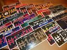 NEW NFL #1 Fan Car / Automobile License Plate - All 32 NFL Teams Available NEW