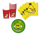 Angry Birds Birthday Party Supplies Plates Napkins Cups & More Set for 8 or 16