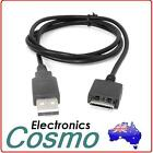 USB Sync Data Transfer Charger Cable Wire Cord For Sony Walkman MP3 Player 1M