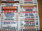 NEW NFL Plastic Car / Auto Tag License Plate Frames - 20+ Teams Available!