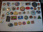 OLD DISNEY COLLECTIBLE MIXED LOT OF 40 PINBACKS, BUTTONS & MORE LOT 5