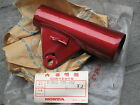 Honda CD125 CD125K3 CD175 CD175K3 LH Cover Upper Front Fork Red XJ NOS Genuine