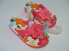 Gymboree Aloha Sunshine Girls Flip Flops Sandals Size 9-10 NEW