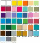"""Vinyl Adhesive Matte QuicKutz Cameo Silhouette 5- 9""""x 2' 45 Colors Choose From"""
