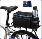 Bike Pannier Rear Seat Bag Bicycle Cycling Sport With handle reflective tape 013