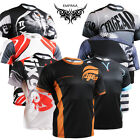 FIXGEAR mens sports clothing round T-shirts running gym cycling bike top S~3XL