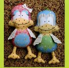 MELLY & ME Twitter BIRD Softie Soft Toy Sewing PATTERN Fabric BIRDIE Sewing