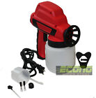 Less Paint Electric Airless Air House Fence Room Painting Gun Sprayer New