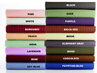 100% Egyptian Cotton UK Double 1pc Flat Sheet,Choose Color(STRIPE),Thread Count