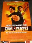 Twin Dragons Movie Poster rolled Jackie Chan