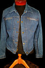 VINTAGE EARY PLEATED FRONT LATE 1950'S EARLY 1960'S ROEBUCKS DENIM JACKET SZ S-M