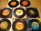 Record lot of 8 Steve Miller Band, Paul Simon, Carpenters, B. Streisand / 45RPM