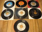 Record lot of 7 Gregg Allman, Ray Stevens, Helen Reddy, Stories, Ace / 45RPM