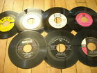 Record lot of 7 Louis Armstrong, Ricky Nelson, Johnny Rivers, The Vocals / 45RPM