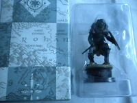 Eaglemoss Lord Of The Rings Chess Set 1 * Issue 16 Orc Axeman black pawn **