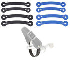 Spur Tie Downs..Assorted Colors..Lot Deal of 12 Pairs! 4 Small/Med & 8 Large/XLG