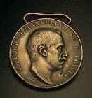SCARCE 1911 1912 ITALY LIBYA LIBIA TURKISH CAMPAIGN MEDAL SILVER KING VITTORIO
