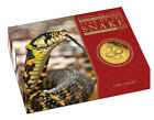 2013 Perth Mint Lunar Series 3 gold coin proof set - Snake - 1, 1/4, 1/10 oz