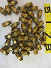 """43 – BRASS HEX REDUCERS 1/4"""" MALE TO 1/8"""" MALE"""