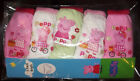 PEPPA PIG GIRLS 5 pack knickers - sizes 2-3 , 3-4 and 4-5 - new PEPPA PIG