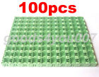 100pcs/Lot Green Kit Components Boxes Laboratory Storage Box SMT SMD Kits