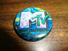 MTV Button---Pink/Green---1 1/4""