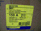 SQUARE D CIRCUIT BREAKER CAT# QO2150 150A/240V/2POLE *NIB*