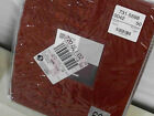"""JCPenney Rod Pocket Curtains 104""""W x 63""""L PAIR """"Red Earth"""" / Rust / Panel Shown"""