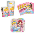 Disney Princess Birthday Party Supplies Plates Napkins Cups Set for 8 or 16 NEW