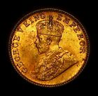 1936 INDIA 1/4 ANNA FULL BU MINT COIN & RED LUSTER PRETTY!!