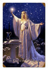 RING GALADRIEL LOTR HILDEBRANDT AUTOGRAPHED LORD OF RINGS VINTAGE METAL SIGN