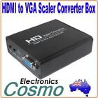 Professional Scaler Scale Any HDMI to VGA RGB to 1920X1080 Adapter Converter 038