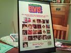 "BIG 11X17 FRAMED ELVIS PRESLEY ""ALWAYS ELVIS - STOCK UP!"" LP ALBUM CD PROMO AD"