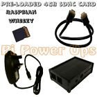 Raspberry Pi compatible Case, 4GB SDHC card, Power Supply, HDMI starter kit