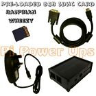 Raspberry Pi compatible Case 8 GB SD card, Power Supply & DVI Cable starter kit