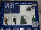 Doctor Who Dapol 7th Doctor Limited Edition Green Dalek Action Figure Gift Set!