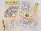 LOT OF 5 STYLE KING JAPANESE CHRISTMAS TREE ORNAMENTS FAN TRAIN BALL DRUM NEW