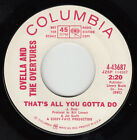 OVELLA & OVERTURES - Columbia 43687 - That's All You Gotta Do - NORTHERN DJ VG++