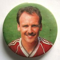 Man Utd Mike Phelan 1980's Badge Rare Manchester United Pin