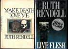 MAKE DEATH LOVE ME (Ruth Rendell/1st US/psychological thriller)