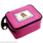 NEW PERSONALISED GIFT BANG ON THE DOOR ANIMAL ALPHABET INSULATED LUNCH BAG BOX